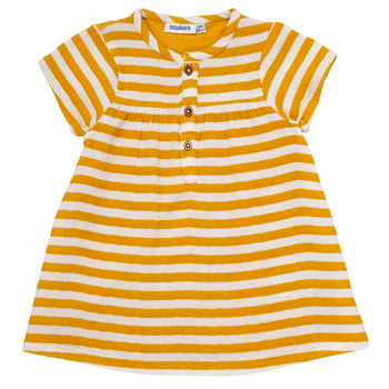 Clothing Girl Short Dresses Noukie's YOUNES Yellow