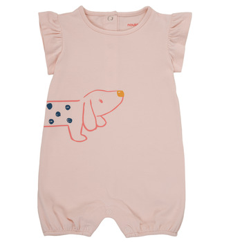 Clothing Girl Jumpsuits / Dungarees Noukie's ISAAC Pink