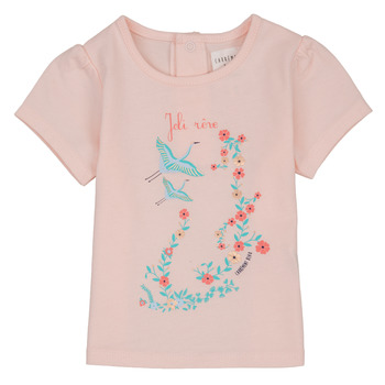 Clothing Girl short-sleeved t-shirts Carrément Beau NOLAN Pink