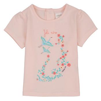 Clothing Girl Short-sleeved t-shirts Carrément Beau NOLAN Pink