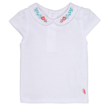Clothing Girl short-sleeved t-shirts Carrément Beau MAYVE White