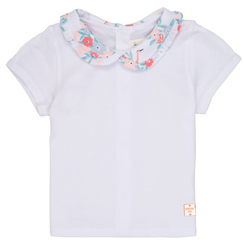 Clothing Girl short-sleeved t-shirts Carrément Beau JACKSON White