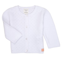 Clothing Girl Jackets / Cardigans Carrément Beau ERIK White