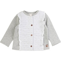 Clothing Girl Jackets / Cardigans Carrément Beau ISA Grey