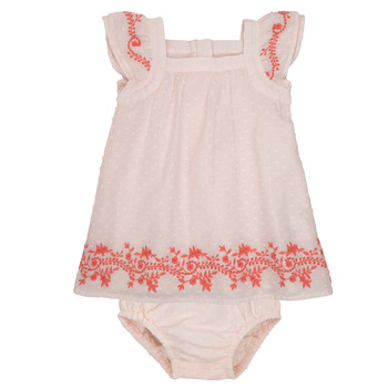 Clothing Girl Short Dresses Carrément Beau SAMY Pink
