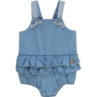 Clothing Girl Jumpsuits / Dungarees Carrément Beau KYAN Blue