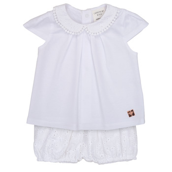 Clothing Girl Sets & Outfits Carrément Beau LORELLI White
