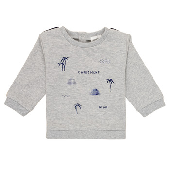 Clothing Boy sweaters Carrément Beau ROLAND Grey