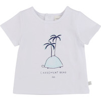Clothing Boy Short-sleeved t-shirts Carrément Beau MARTINEZ White