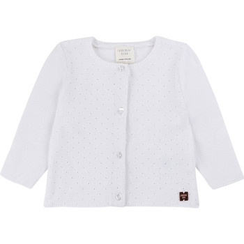 Clothing Girl Jackets / Cardigans Carrément Beau CLAUDIA White