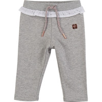 Clothing Girl 5-pocket trousers Carrément Beau LILA Grey