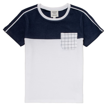 Clothing Boy Short-sleeved t-shirts Carrément Beau PIERRE White