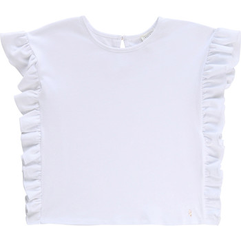 Clothing Girl Short-sleeved t-shirts Carrément Beau CELESTIN White