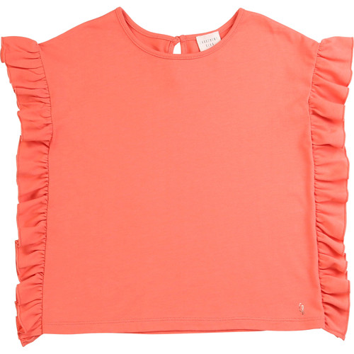 Clothing Girl short-sleeved t-shirts Carrément Beau LEANA Pink