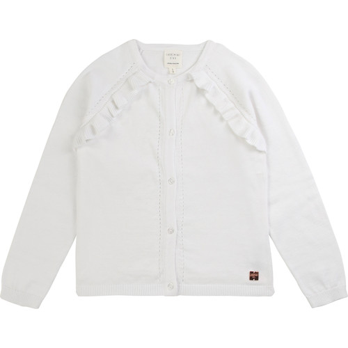 Clothing Girl Jackets / Cardigans Carrément Beau KENISSA White