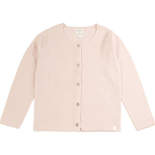 Clothing Girl Jackets / Cardigans Carrément Beau NAEL Pink