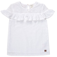 Clothing Girl short-sleeved t-shirts Carrément Beau ARMELLE White