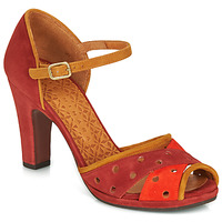 Shoes Women Sandals Chie Mihara AKAI Bordeaux / Orange / Camel