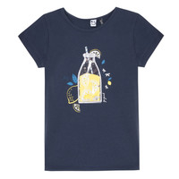 Clothing Girl short-sleeved t-shirts 3 Pommes LOGAN Blue