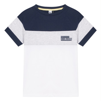 Clothing Boy Short-sleeved t-shirts 3 Pommes NORA White