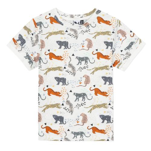 Clothing Boy Short-sleeved t-shirts 3 Pommes ARIANE Orange
