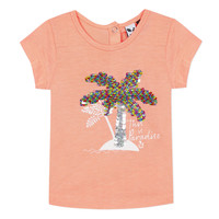 Clothing Girl Short-sleeved t-shirts 3 Pommes EMMA Orange