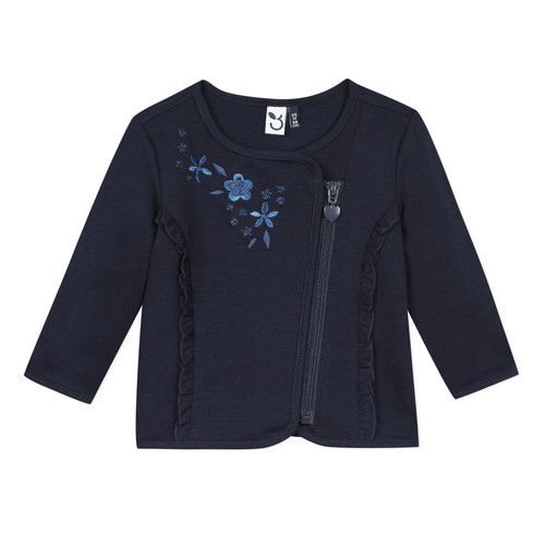 Clothing Girl Jackets / Cardigans 3 Pommes TEVAI Blue