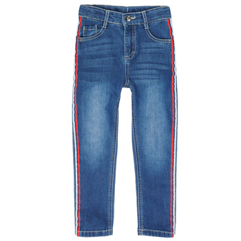 Clothing Boy 5-pocket trousers 3 Pommes ALICIA Marine