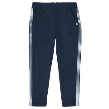 Clothing Girl 5-pocket trousers 3 Pommes SYLVANA Blue