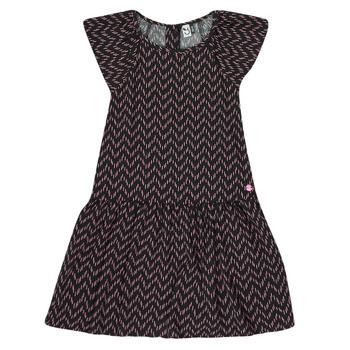 Clothing Girl Short Dresses 3 Pommes JULIE Black