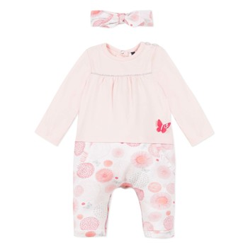 Clothing Girl Jumpsuits / Dungarees 3 Pommes MELODIE Pink