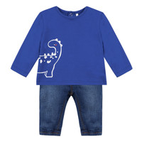 Clothing Boy Sets & Outfits 3 Pommes GABRIEL Blue