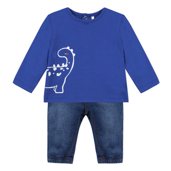 Clothing Boy Sets & Outfits 3 Pommes GABRIEL Blue
