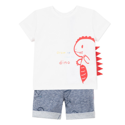 Clothing Boy Sets & Outfits 3 Pommes ANOUCK White