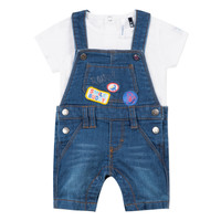Clothing Boy Sets & Outfits 3 Pommes PAUL Blue