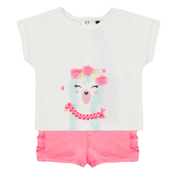 Clothing Girl Sets & Outfits 3 Pommes JULIEN Pink