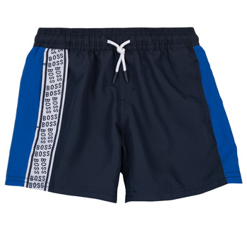 Clothing Boy Shorts / Bermudas BOSS MOZEL Blue