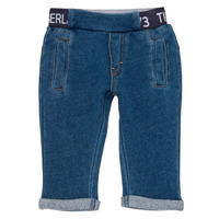 Clothing Boy 5-pocket trousers Timberland VALENTIN Blue
