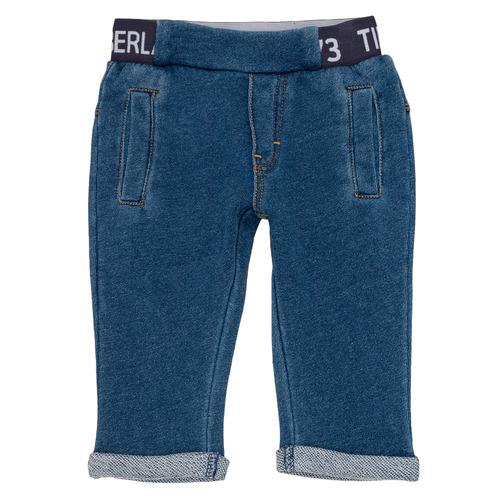 Clothing Boy 5-pocket trousers Timberland VALENTIN Blue