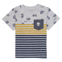 Clothing Boy short-sleeved t-shirts Timberland EVAN Multicolour