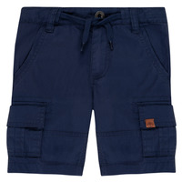 Clothing Boy Shorts / Bermudas Timberland LUKA Blue