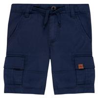 Clothing Boy Shorts / Bermudas Timberland LUKA Blue