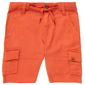 Clothing Boy Shorts / Bermudas Timberland TIMEO Red
