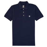 Clothing Boy Short-sleeved polo shirts Timberland GAUTHIER Blue