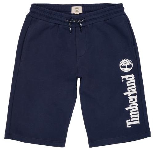 Clothing Boy Shorts / Bermudas Timberland OMAR Blue
