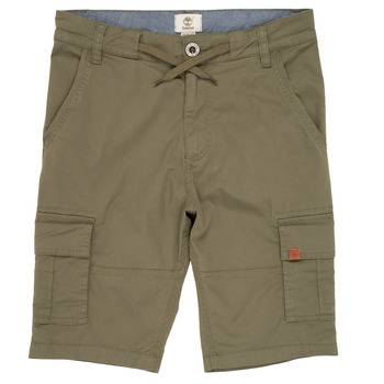 Clothing Boy Shorts / Bermudas Timberland TAO Green
