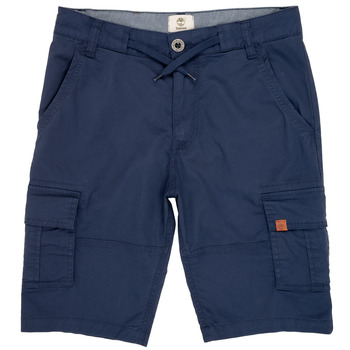 Clothing Boy Shorts / Bermudas Timberland IYAD Blue