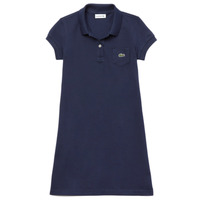 Clothing Girl Short Dresses Lacoste TARIK Marine