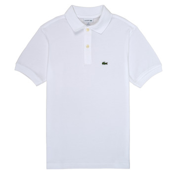 Clothing Boy short-sleeved polo shirts Lacoste ELYAN White