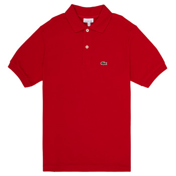 Clothing Boy Short-sleeved polo shirts Lacoste WILLS Red